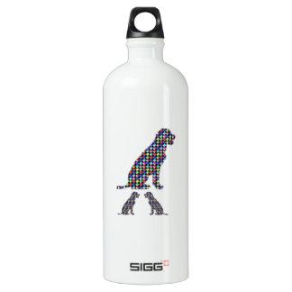 LABRADOR-Hundewelpe punktiert Haustier NVN93 Wasserflasche