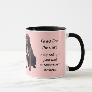Labrador-Retriever-Brustkrebs-Tasse Tasse