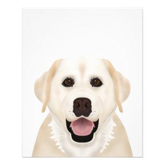 Labrador-Retriever-Cartoon Flyer