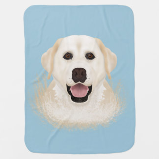 Labrador-Retriever-Cartoon Kinderwagendecke