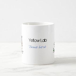 Labrador retriever - Gelb Kaffeetasse