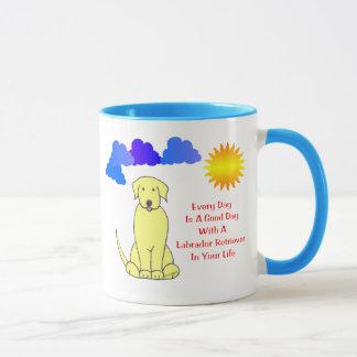 Labrador-Retriever jeden Tag ist eine guter Tasse