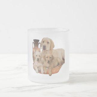 Labrador retriever-Produkte Mattglastasse