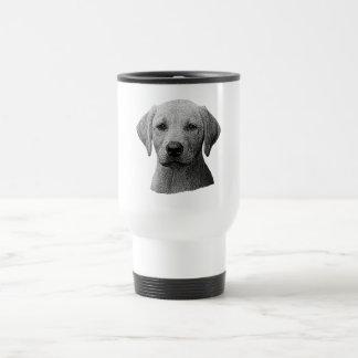Labrador retriever - Sylized Bild - addieren Text Reisebecher