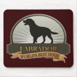 Labrador retriever tapis de souris