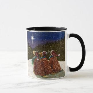 Labrador-Retriever-WeihnachtsTasse Tasse