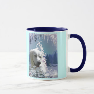 Labrador retriever-Winter Tasse