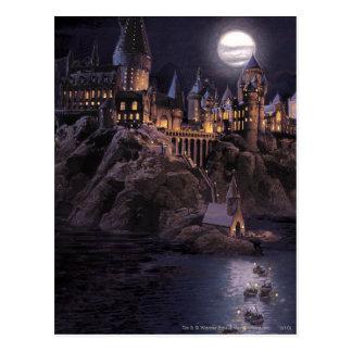 Lac castle   de Harry Potter grand à Hogwarts Carte Postale