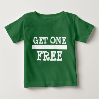L'achat un du jumeau 2 obtiennent un libre t-shirt pour bébé