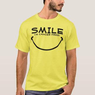 Lächeln, bin ich der freie Krebs! T-Shirt