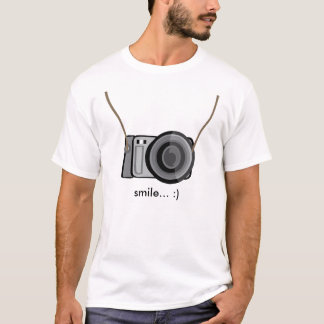 Lächeln-Kamera T-Shirt