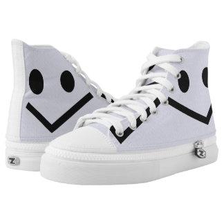 Lächeln: Karo Hoch-geschnittene Sneaker