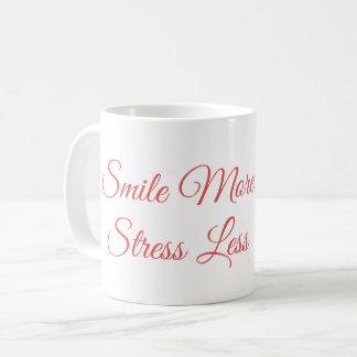 Lächeln mehr Tasse