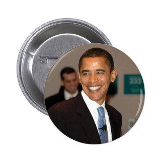 Lächeln Präsidenten-Barack Obama Runder Button 5,7 Cm