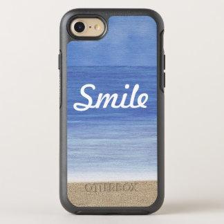 Lächeln-Strand-Ozean OtterBox Symmetry iPhone 8/7 Hülle