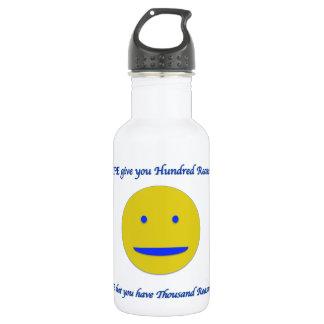 Lächeln zum Leben Trinkflasche