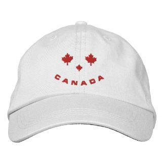 Lächelnde Kanada-Baseballmütze Bestickte Baseballkappe