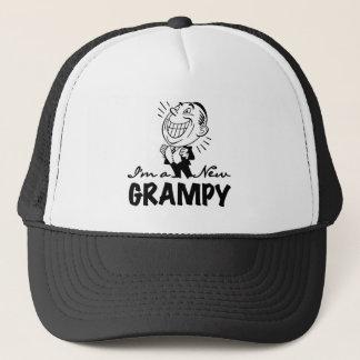 Lächelnde neue Grampy T - Shirts und Geschenke Truckerkappe