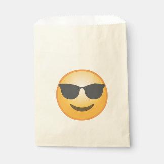 Lächelnde Sonnenbrille Emoji Geschenktütchen