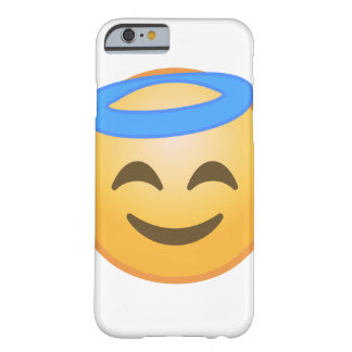 Lächelnder Engel Emoji Barely There iPhone 6 Hülle