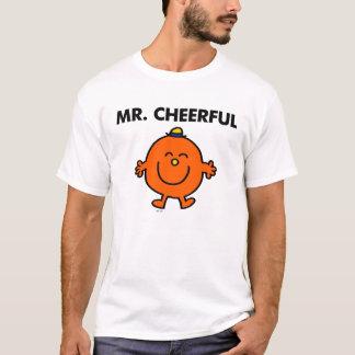 Lächelnder Herr Cheerful T-Shirt
