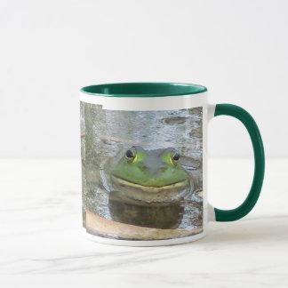 Lächelnder Ochsenfrosch Tasse