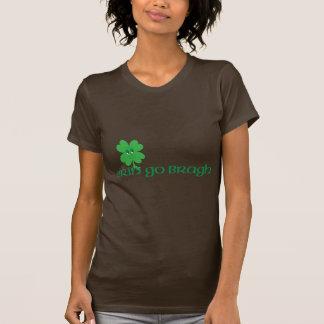 Lächelndes Kleeblatt T-Shirt