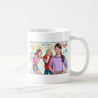 Lachende Mädchen Kaffeetasse