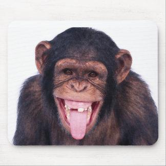 Lachender Affe Mauspad