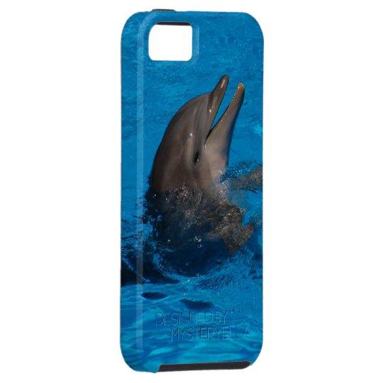 """lachender Delfin"" by mysteryella iPhone 5 Etuis"