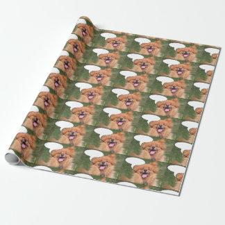 Lachender Hund Geschenkpapier