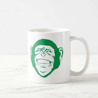 Lachender Schimpanse Kaffeetasse