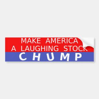 Lachender Vorrat Anti-Trumpf Autoaufkleber