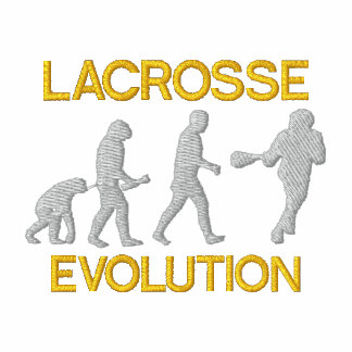 Lacrosse-Evolution gesticktes Polo-Shirt Besticktes Polo Hemd