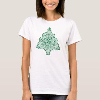 Lacy Weihnachtsbaum-Shirt T-Shirt