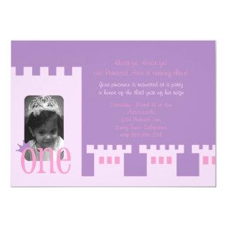 Laden 1. Geburtstags-Party Prinzessin ein 12,7 X 17,8 Cm Einladungskarte