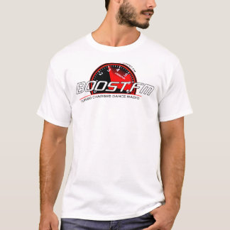 Laden Sie klares Schwarzes auf T-Shirt