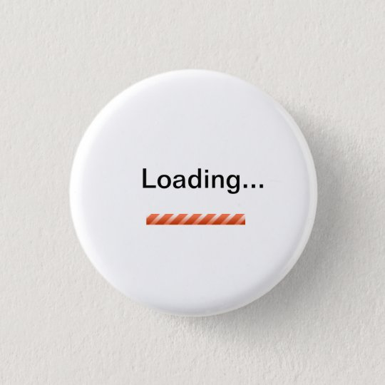 """""""Ladend…"""" mit Status-Barneuheit Runder Button 3,2 Cm"""