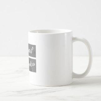 LadyBoss-Flowers Mug Blanc