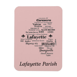 Lafayette-Gemeinde Louisiana setzt Magneten Magnet