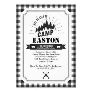 Lager-Geburtstags-Party Einladung
