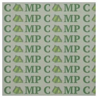 LAGER Grün-Neigung ein Zelt-Sommer-Campings-Camper Stoff