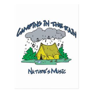 Lager-Naturen Musik Postkarte