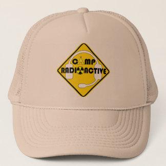 Lager-radioaktive Fernlastfahrer-Kappe Truckerkappe