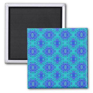 Lagune-Blaupausen-Magnet Quadratischer Magnet