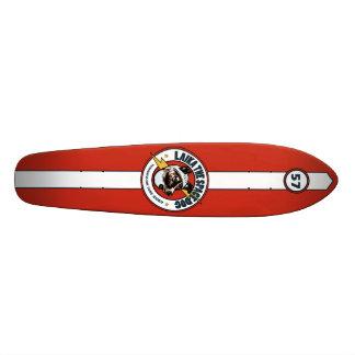 Laika die Raum-Hundealte Schule #57: 70er Skateboa Personalisiertes Skatedeck