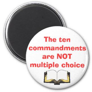 L'aimant de dix commandements