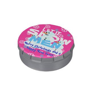 Laissez lui neiger Noël de mauvais goût de Boite De Bonbons Jelly Belly