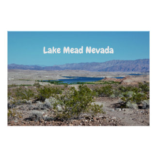 Lake Mead Nevada Poster