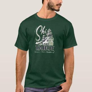 Lake- Tahoeschnee-Kiefernt-stück PS7071 T-Shirt